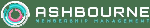 Ashbourne White Logo