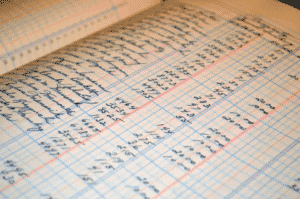 account book keeping