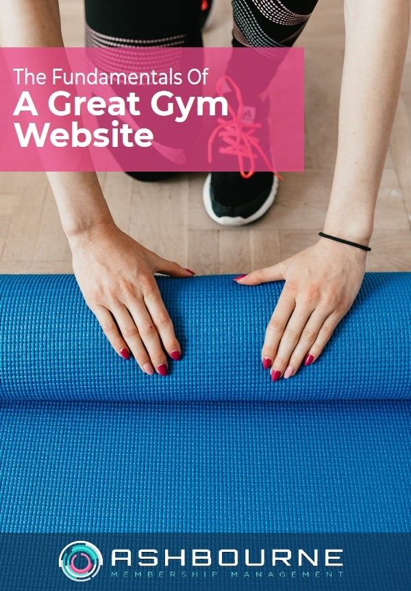 The Fundamentals Of A Great Gym Website