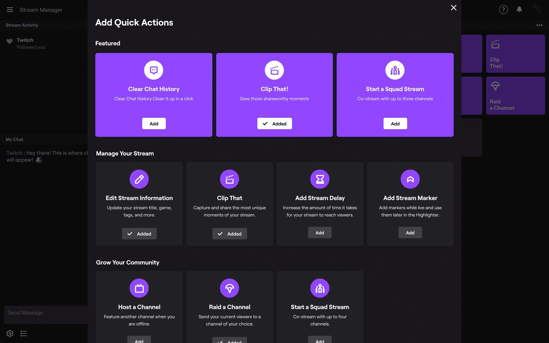 Twitch Stream Dashboard