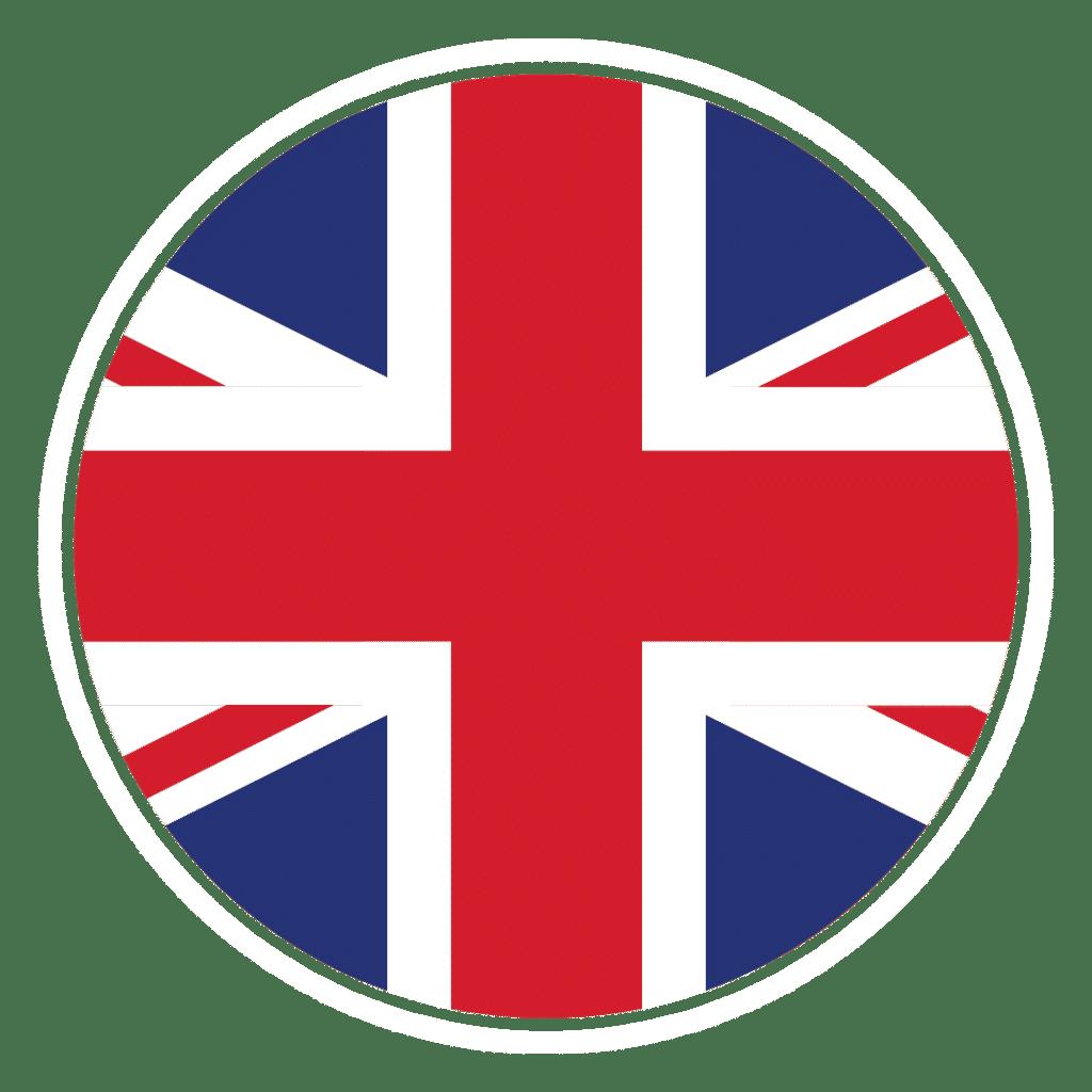 UK flag in circle