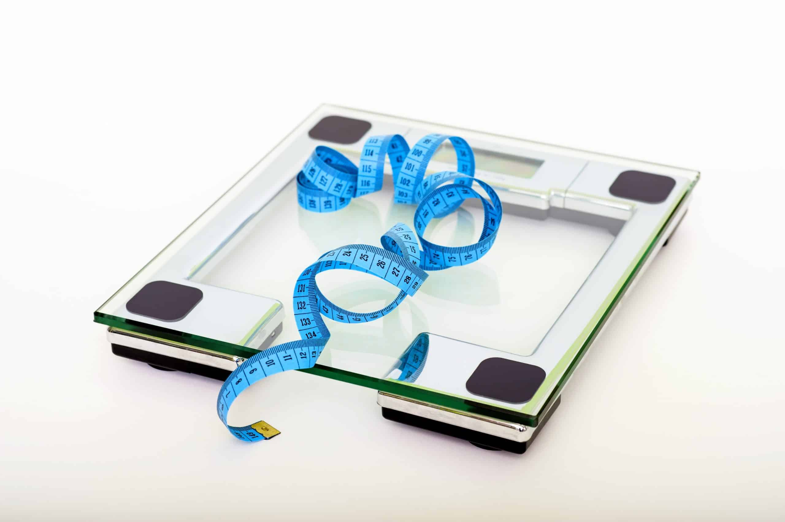Scales and tape measure