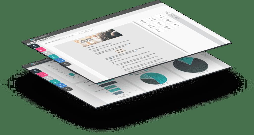 Ashbourne BI Dashboard Stats & Emails