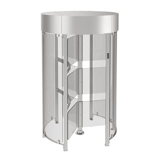 TiSO Glassgo Full Height Turnstile